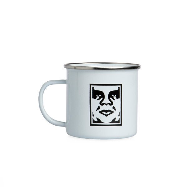 Кружка OBEY Icon Steel Mug White 2021