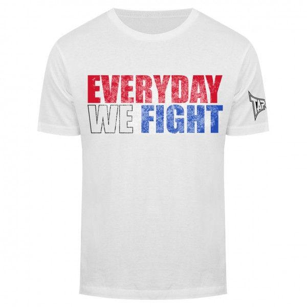 Футболка Tapout Everyday We Fight Mens T-Shirt White Tapout