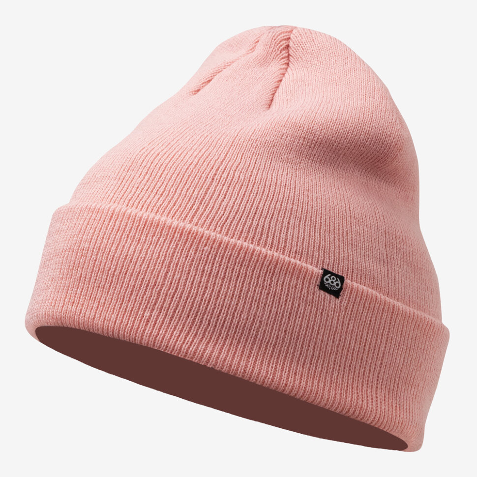 Шапка 686 Standard Roll Up Beanie Dusty Pink 2021