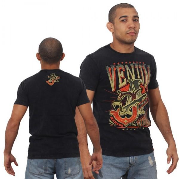 Футболка Venum Jose Aldo Vitoria Black/Orange  Venum