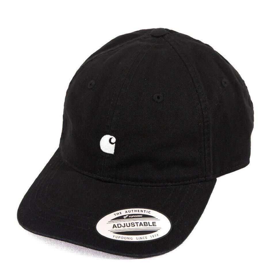 Кепка CARHARTT WIP Madison Logo Cap  Black / White 2021
